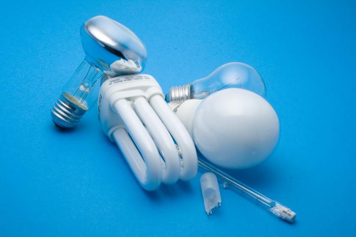 Ahorro de energía bombillas